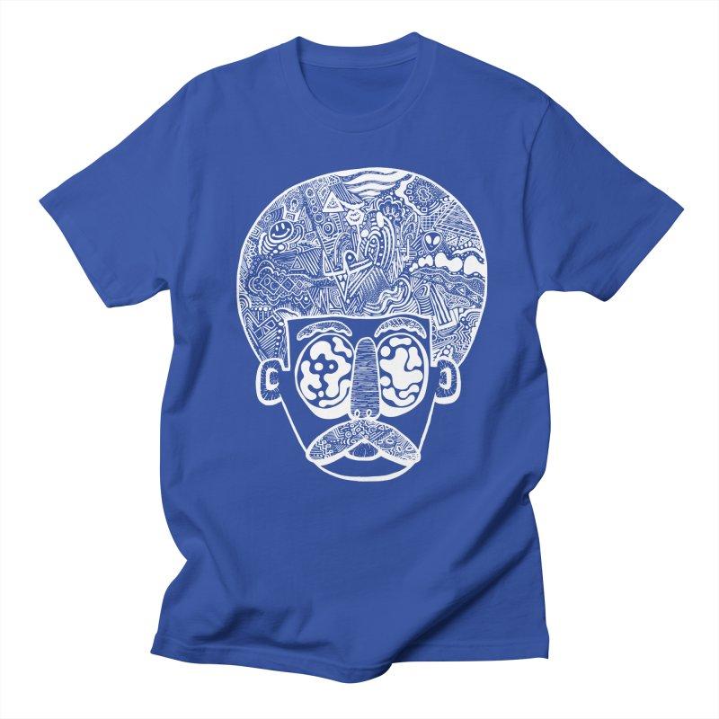 King Of The Afro Men's T-shirt by danielcrichton's Artist Shop