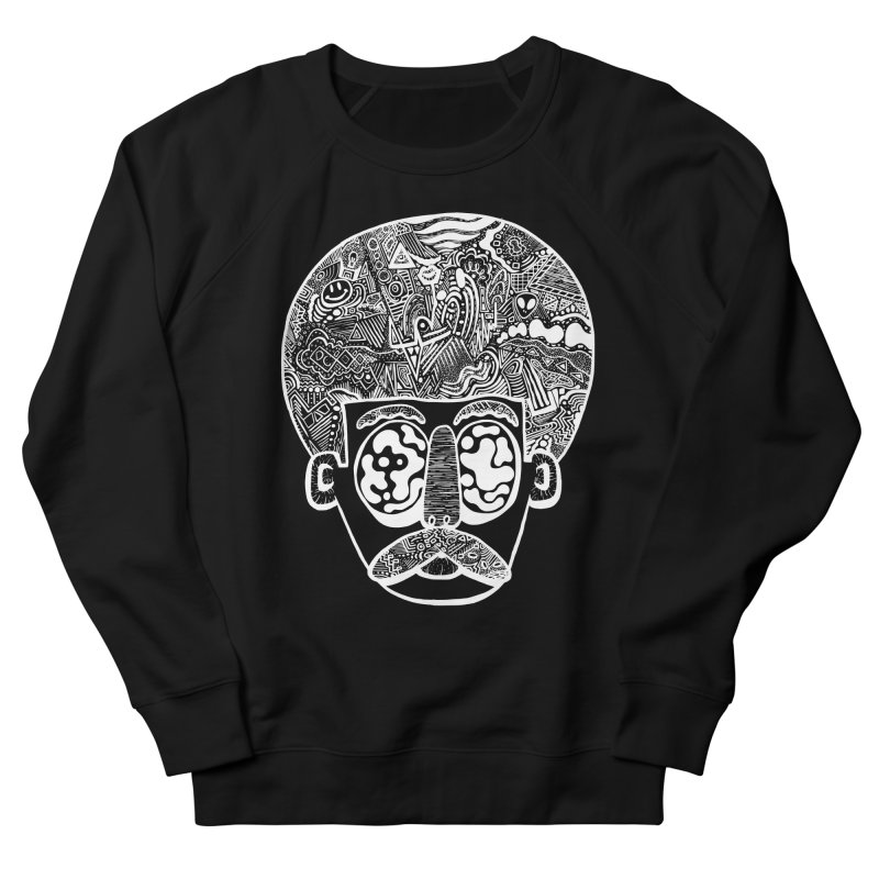 King Of The Afro Men's Sweatshirt by danielcrichton's Artist Shop