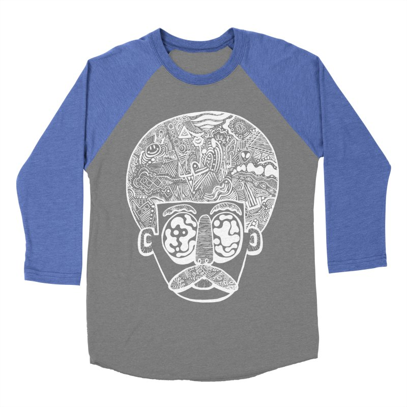 King Of The Afro Men's Baseball Triblend T-Shirt by danielcrichton's Artist Shop