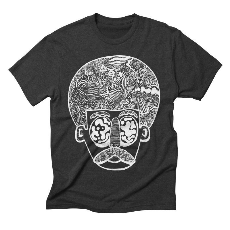 King Of The Afro Men's Triblend T-shirt by danielcrichton's Artist Shop