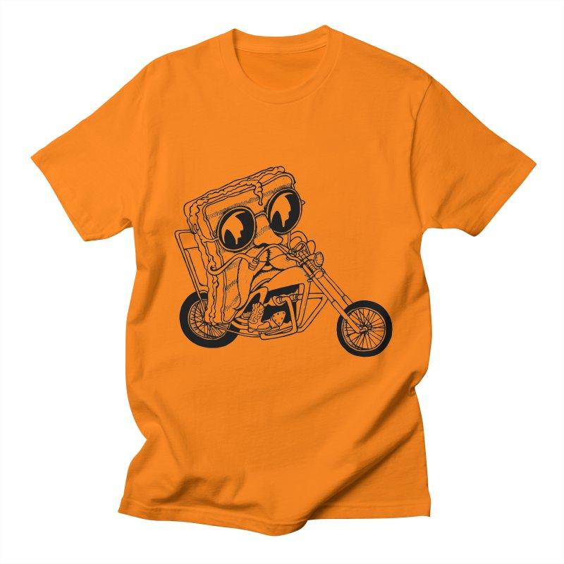 Cheesy Rider Men's T-shirt by danielcrichton's Artist Shop