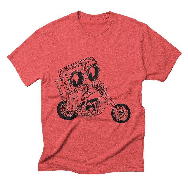 Cheesy Rider Men's Triblend T-Shirt by danielcrichton's Artist Shop