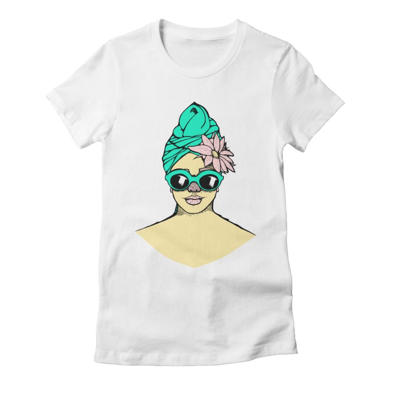 Miss Whoever-You-Are Women's Fitted T-Shirt by danielcrichton's Artist Shop