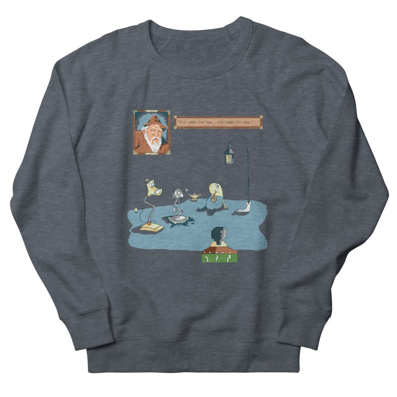 Old Lamps for New Men's French Terry Sweatshirt by Objects in Motion