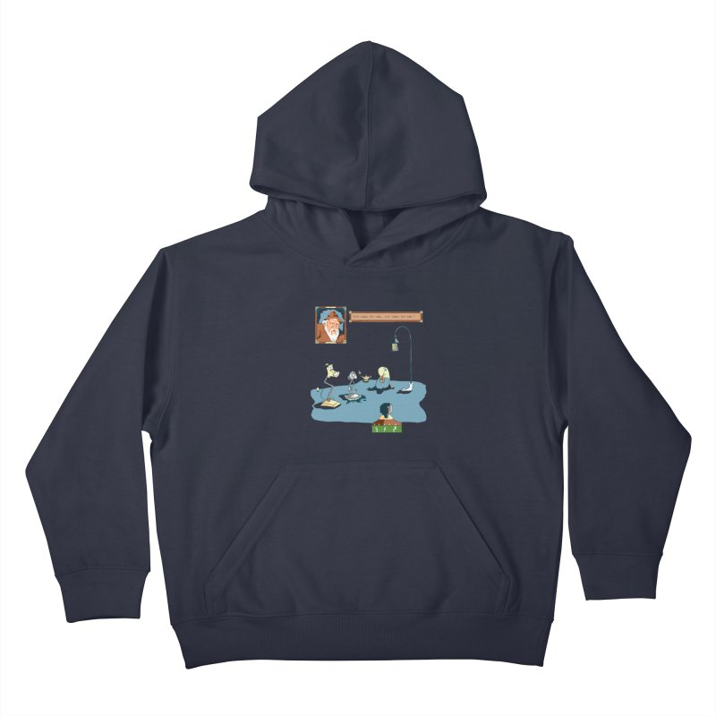 Old Lamps for New Kids Pullover Hoody by Objects in Motion