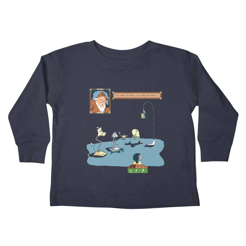 Old Lamps for New Kids Toddler Longsleeve T-Shirt by Objects in Motion