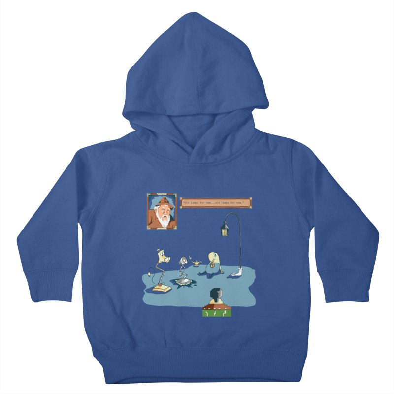 Old Lamps for New Kids Toddler Pullover Hoody by Objects in Motion