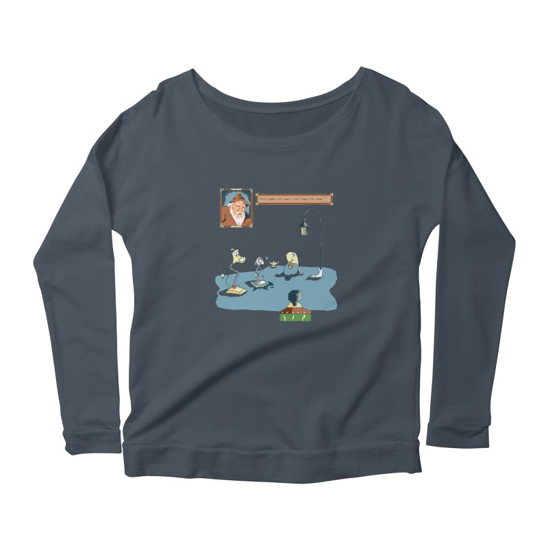Old Lamps for New Women's Longsleeve T-Shirt by Objects in Motion