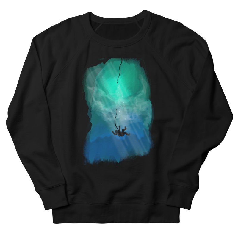 Down Below Men's French Terry Sweatshirt by Objects in Motion