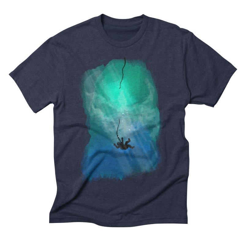 Down Below Men's Triblend T-shirt by Objects in Motion