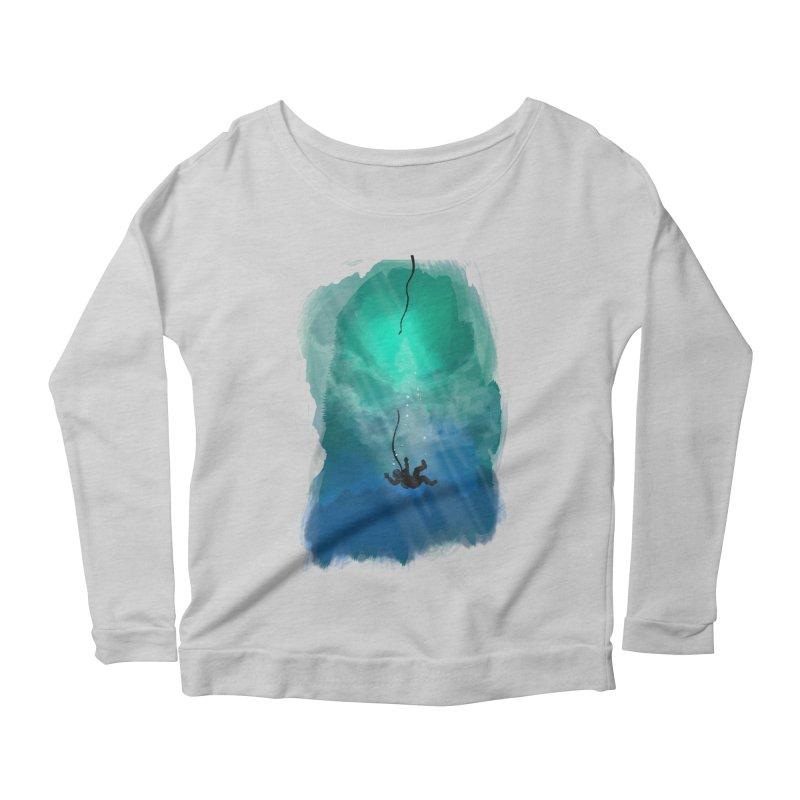 Down Below Women's Scoop Neck Longsleeve T-Shirt by Objects in Motion