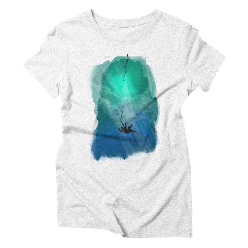 Down Below Women's Triblend T-shirt by Objects in Motion