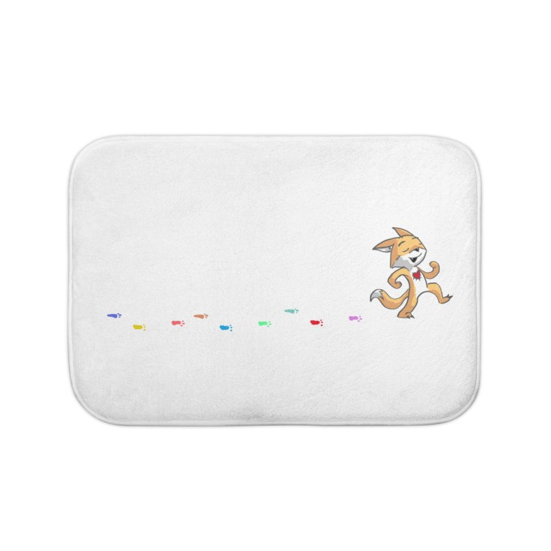 Keep Going Home Bath Mat by Objects in Motion