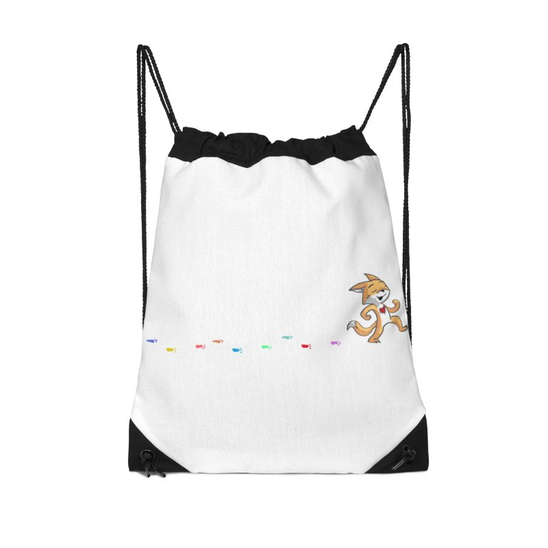 Keep Going Accessories Drawstring Bag Bag by Objects in Motion