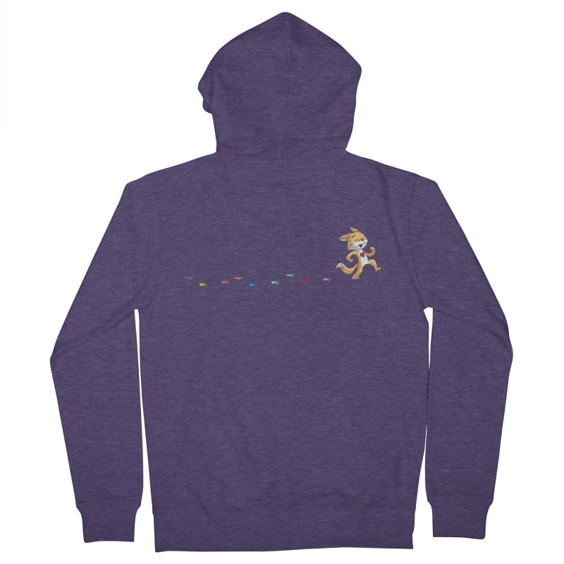 Keep Going Men's French Terry Zip-Up Hoody by Objects in Motion