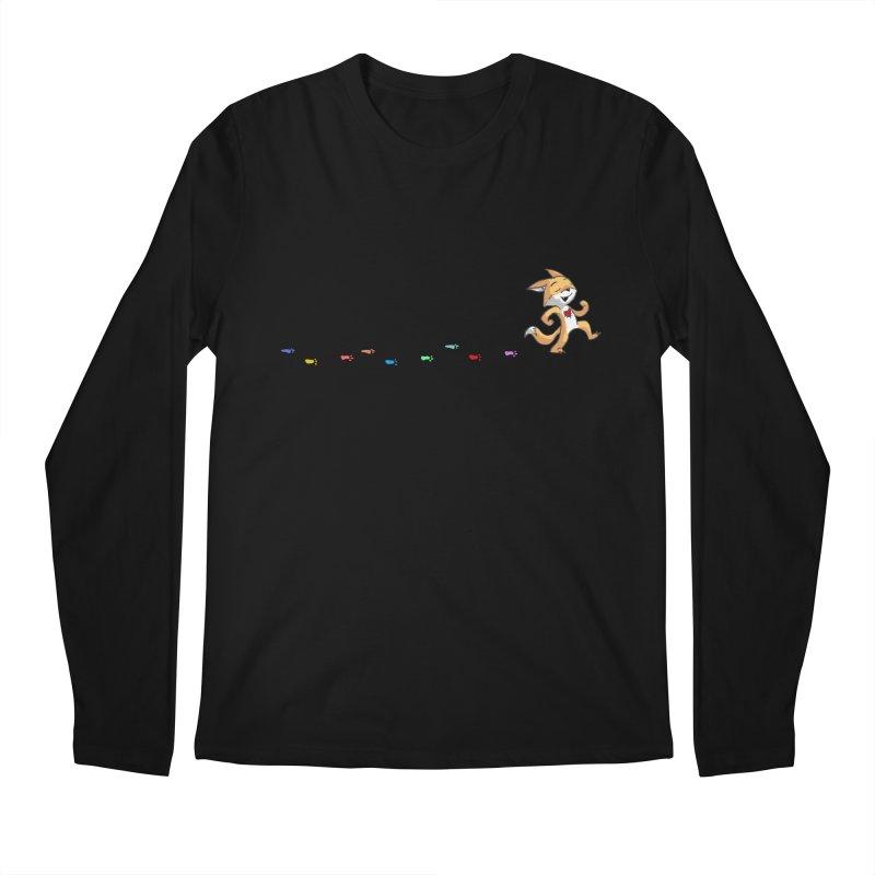 Keep Going Men's Regular Longsleeve T-Shirt by Objects in Motion