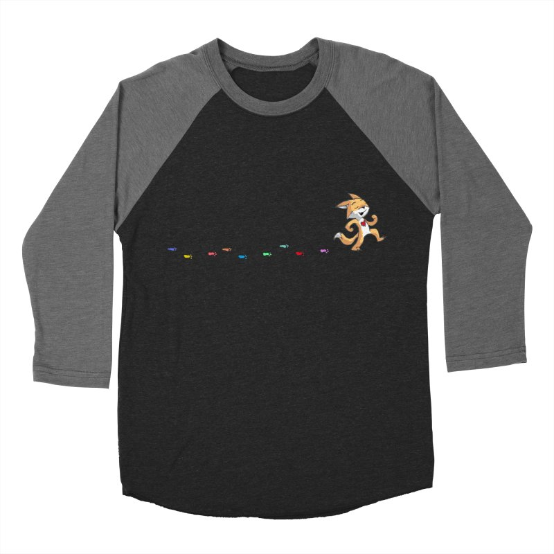 Keep Going Men's Baseball Triblend Longsleeve T-Shirt by Objects in Motion