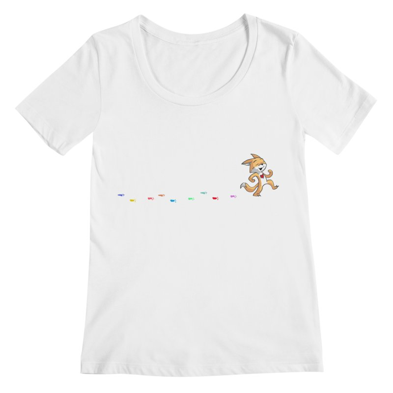 Keep Going Women's Regular Scoop Neck by Objects in Motion