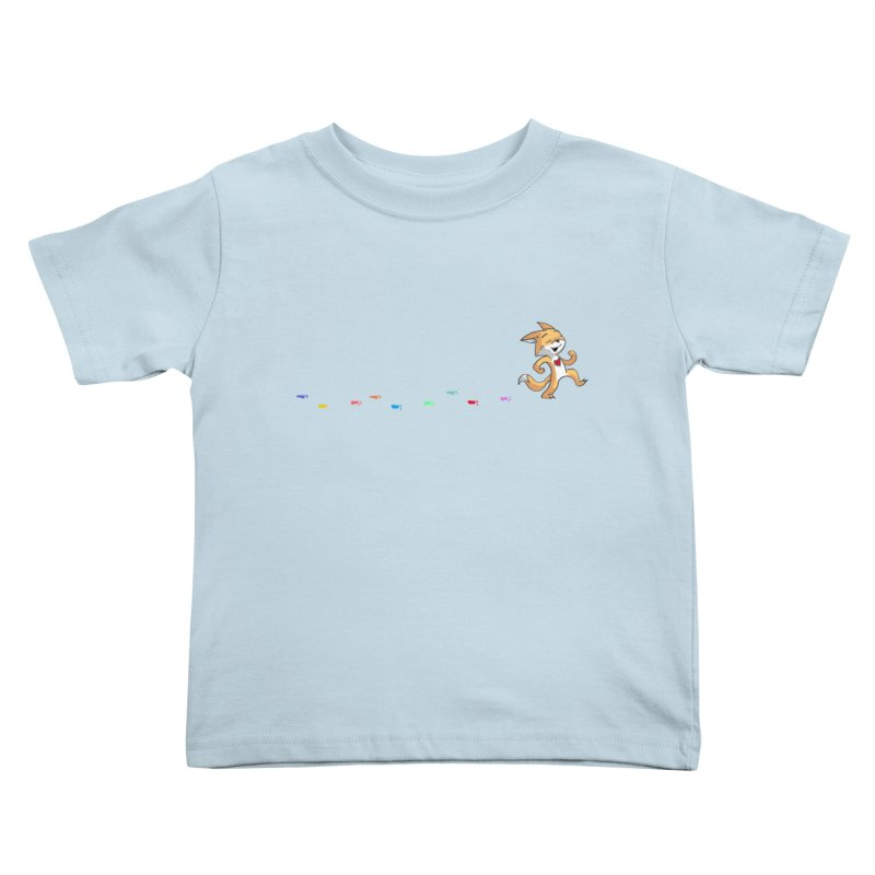 Keep Going Kids Toddler T-Shirt by Objects in Motion