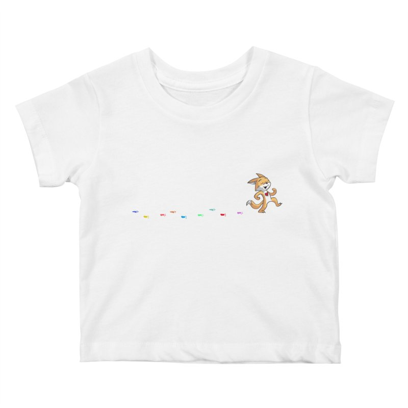 Keep Going Kids Baby T-Shirt by Objects in Motion