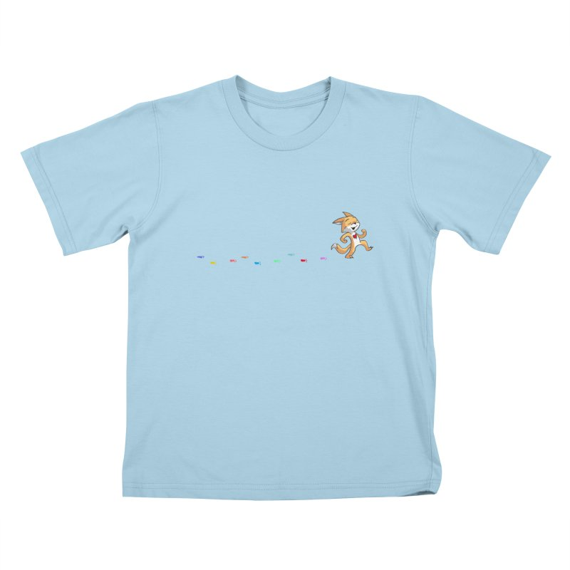 Keep Going Kids T-Shirt by Objects in Motion