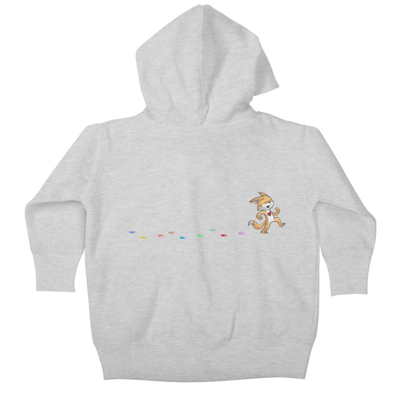 Keep Going Kids Baby Zip-Up Hoody by Objects in Motion