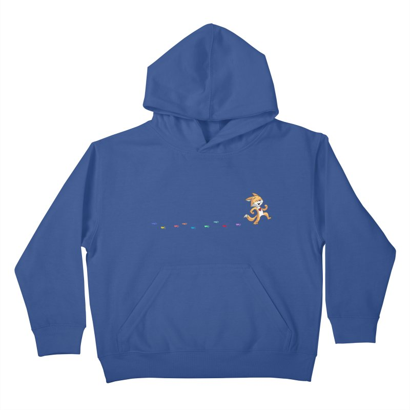 Keep Going Kids Pullover Hoody by Objects in Motion
