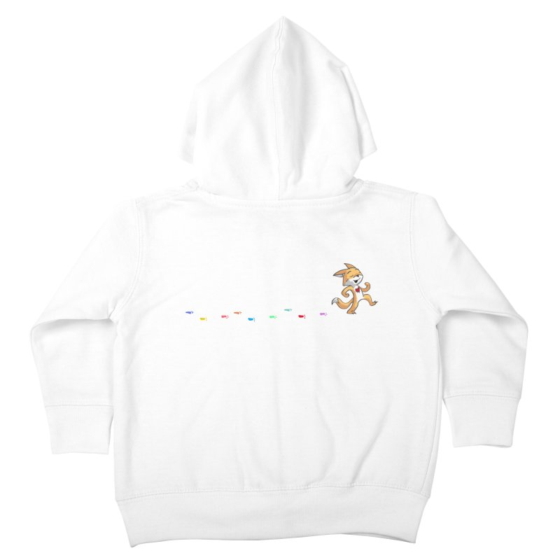 Keep Going Kids Toddler Zip-Up Hoody by Objects in Motion