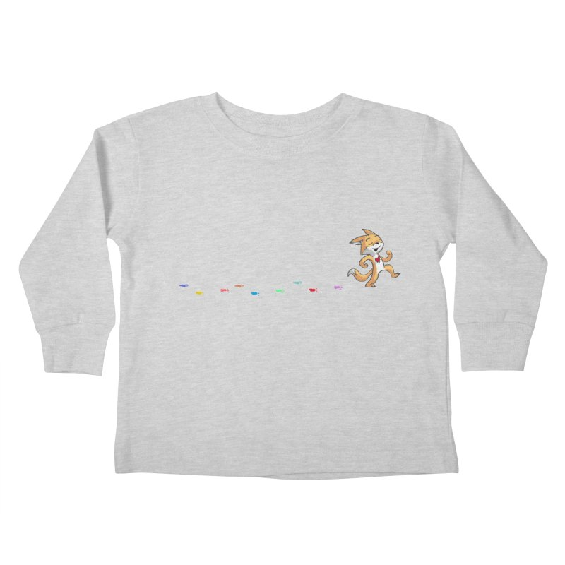 Keep Going Kids Toddler Longsleeve T-Shirt by Objects in Motion