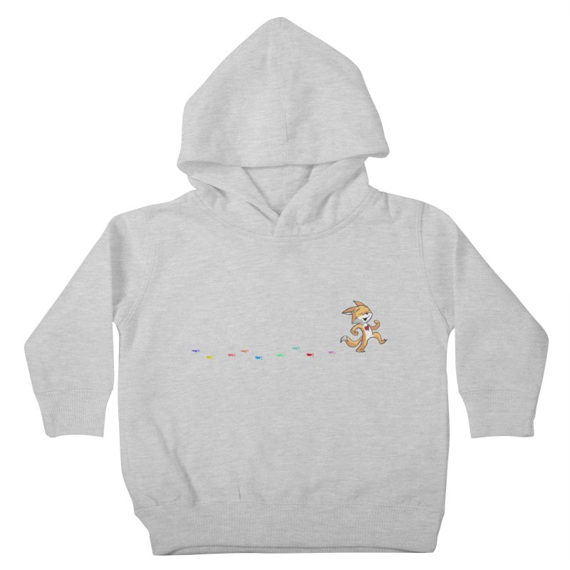 Keep Going Kids Toddler Pullover Hoody by Objects in Motion