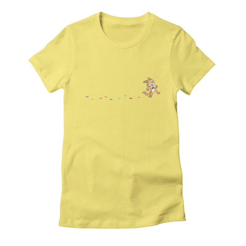 Keep Going Women's Fitted T-Shirt by Objects in Motion
