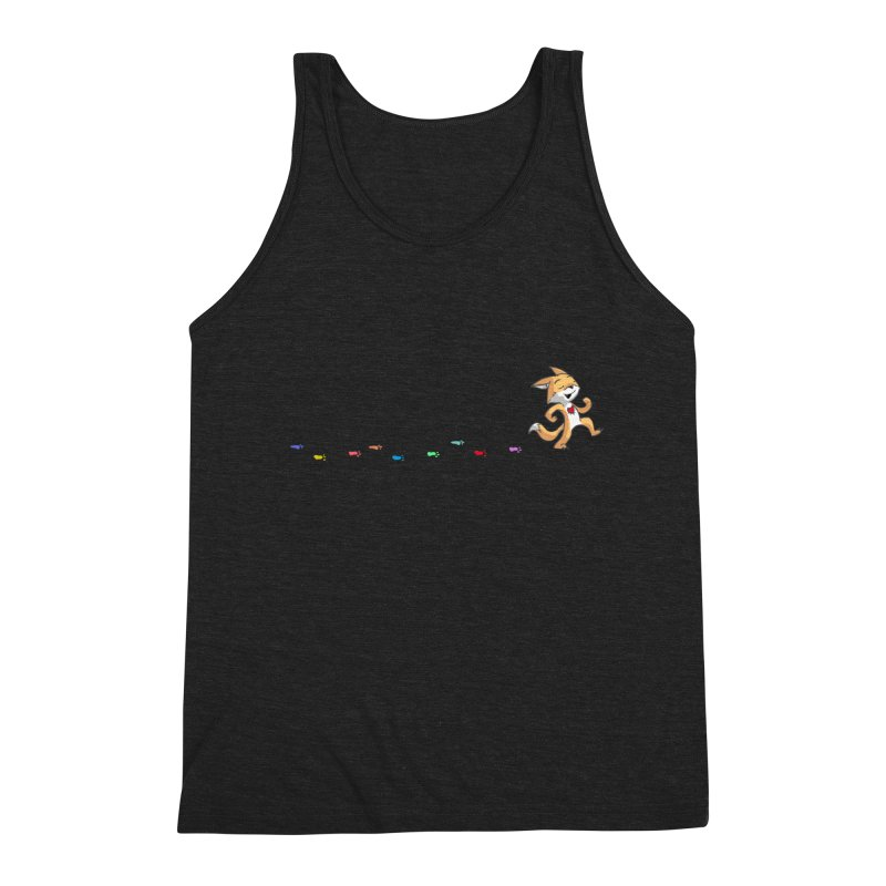 Keep Going Men's Triblend Tank by Objects in Motion
