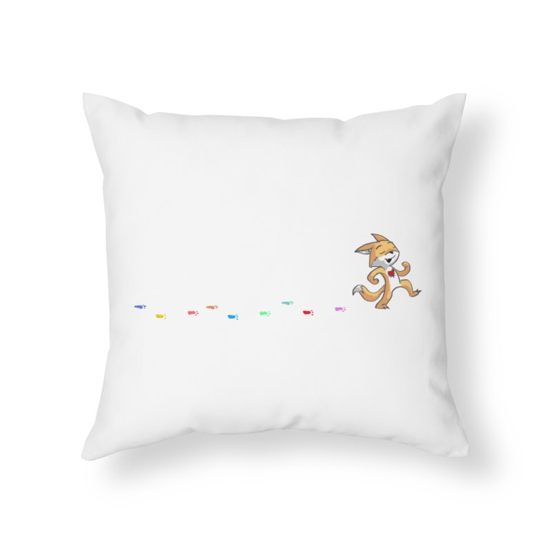 Keep Going Home Throw Pillow by Objects in Motion