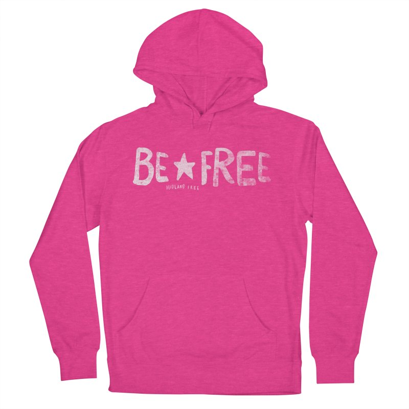 BE*FREE Men's French Terry Pullover Hoody by Daniel Montgomery's Artist Shop