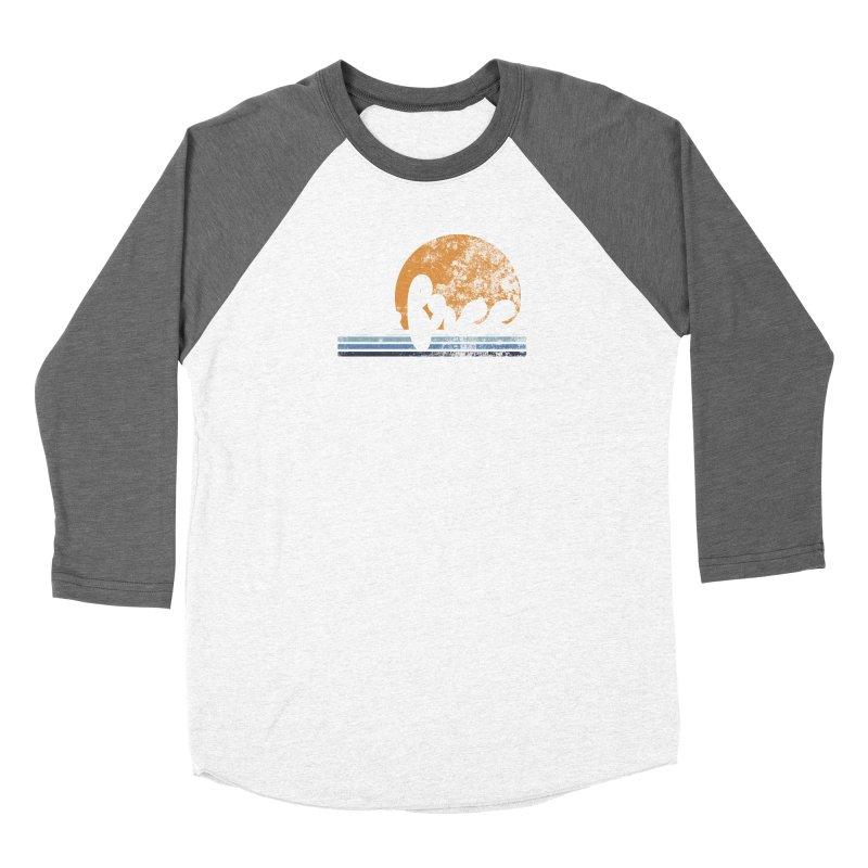 be free sunset Women's Baseball Triblend Longsleeve T-Shirt by Daniel Montgomery's Artist Shop