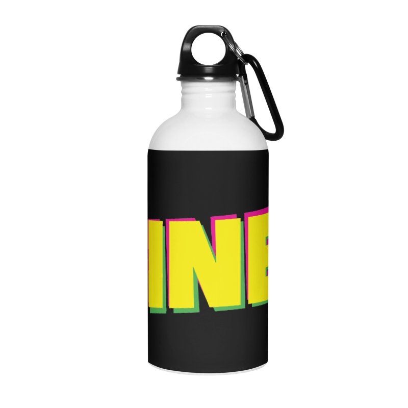 Fine! Accessories Water Bottle by Daniel Montgomery's Artist Shop