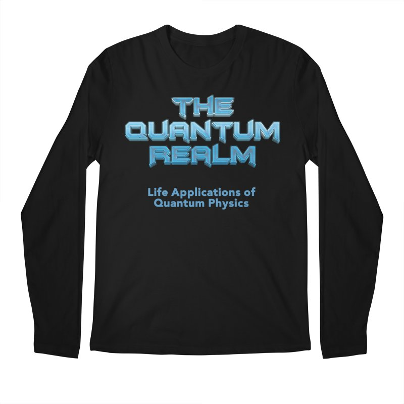 The Quantum Realm Men's Regular Longsleeve T-Shirt by Daniel Montgomery's Artist Shop