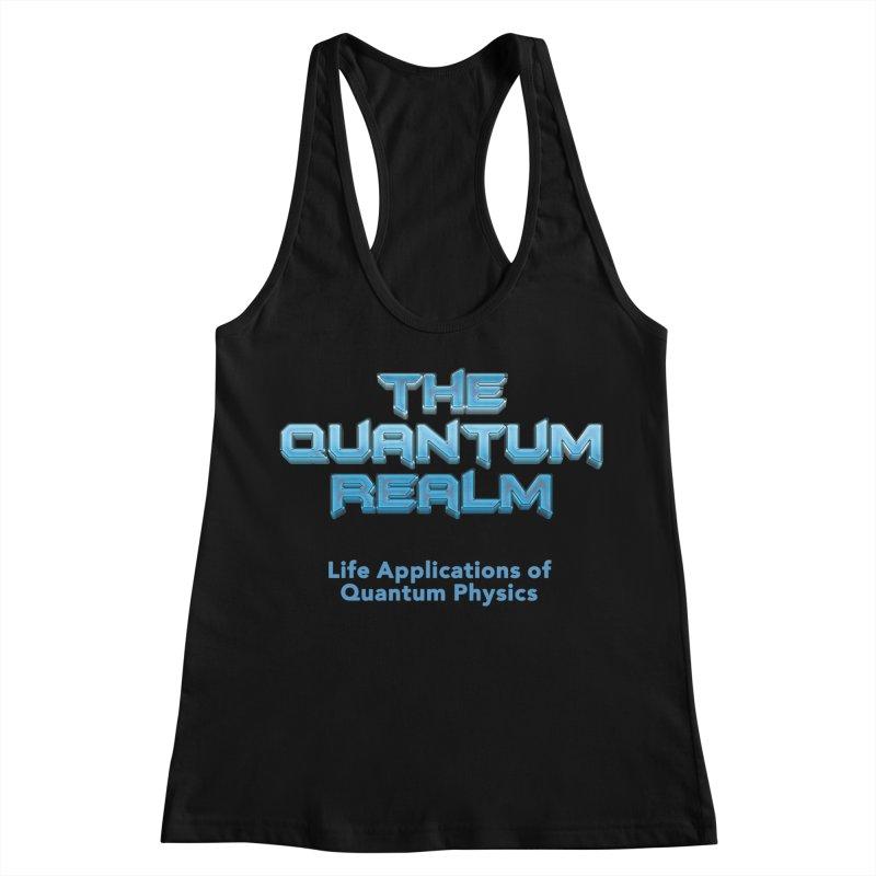 The Quantum Realm Women's Racerback Tank by Daniel Montgomery's Artist Shop