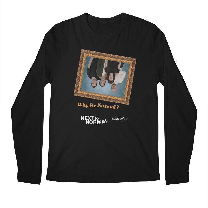 Next to Normal Upside Down Men's Regular Longsleeve T-Shirt by Daniel Montgomery's Artist Shop