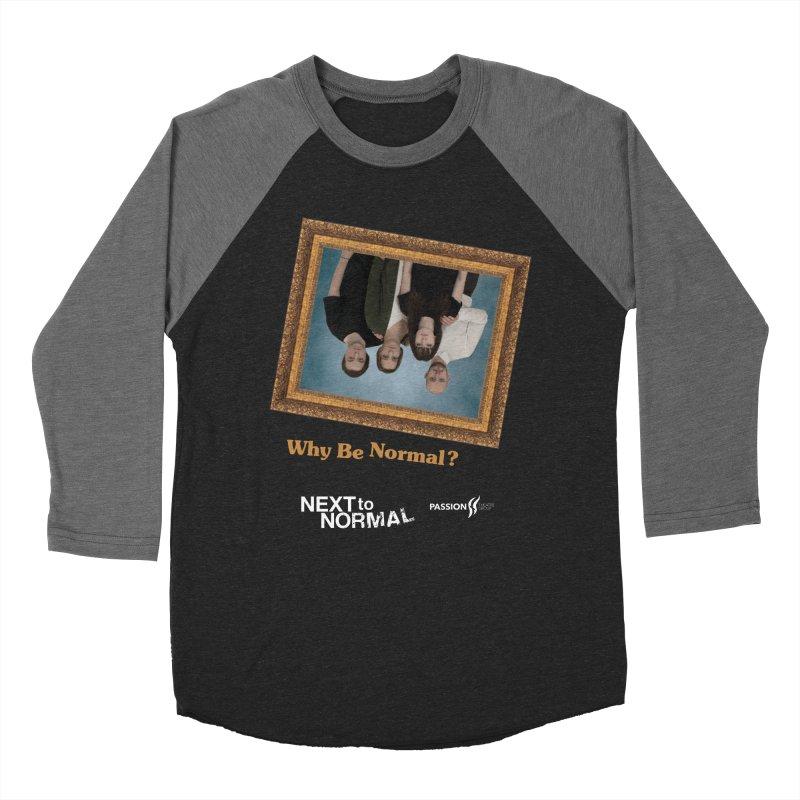 Next to Normal Upside Down Men's Baseball Triblend Longsleeve T-Shirt by Daniel Montgomery's Artist Shop