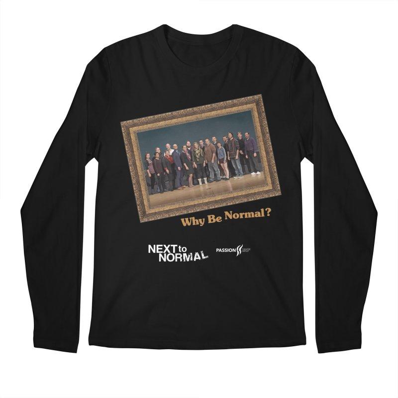 Next To Normal Full Cast Men's Regular Longsleeve T-Shirt by Daniel Montgomery's Artist Shop