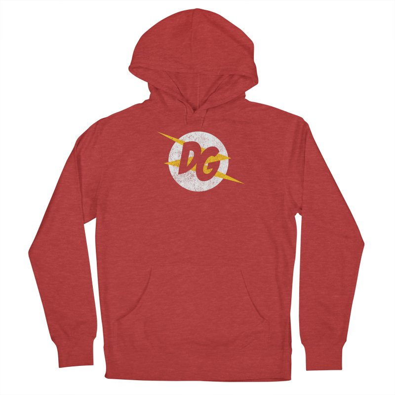 DG shirts in a flash Men's French Terry Pullover Hoody by Daniel Montgomery's Artist Shop