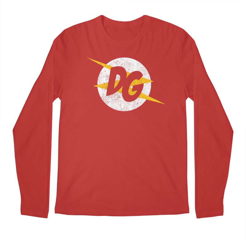 DG shirts in a flash Men's Regular Longsleeve T-Shirt by Daniel Montgomery's Artist Shop