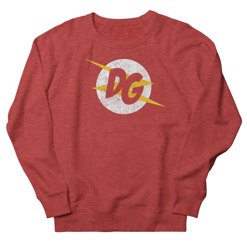 DG shirts in a flash Men's French Terry Sweatshirt by Daniel Montgomery's Artist Shop