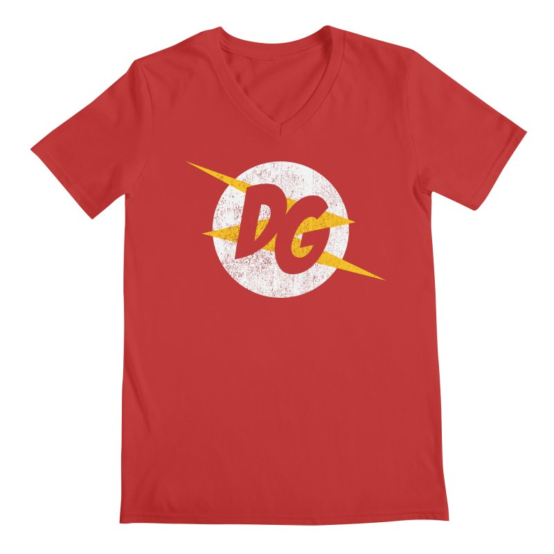 DG shirts in a flash Men's Regular V-Neck by Daniel Montgomery's Artist Shop