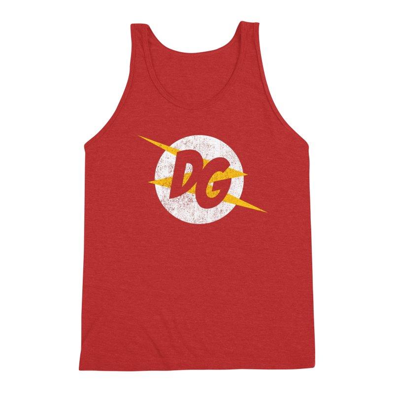 DG shirts in a flash Men's Triblend Tank by Daniel Montgomery's Artist Shop