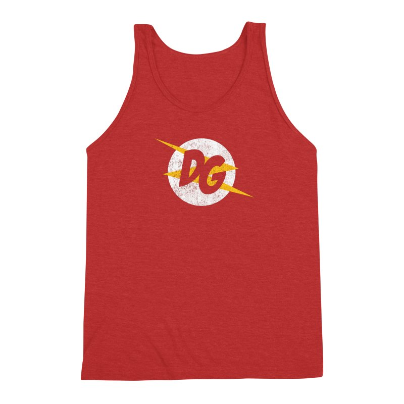 DG shirts in a flash Men's Triblend Tank by Daniel Montgomery's Artist Shop