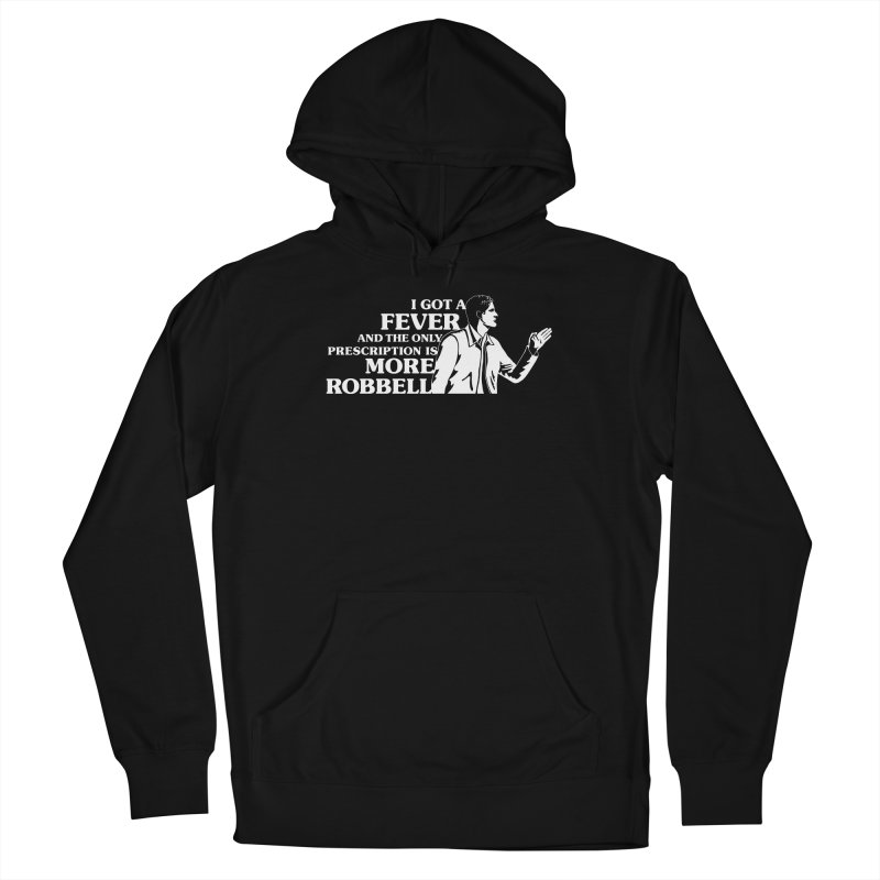 More Robbell Men's French Terry Pullover Hoody by Daniel Montgomery's Artist Shop