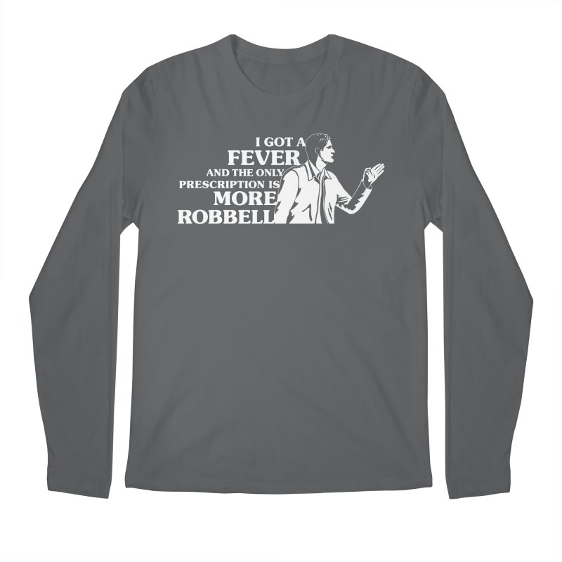 More Robbell Men's Regular Longsleeve T-Shirt by Daniel Montgomery's Artist Shop