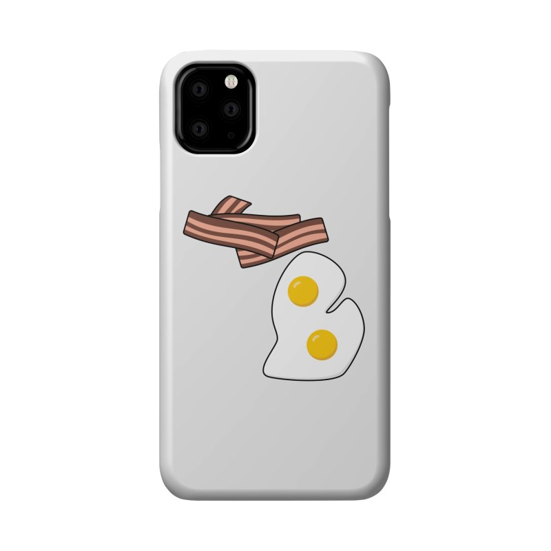 Michigan Breakfast Accessories Phone Case by Daniel Montgomery's Artist Shop